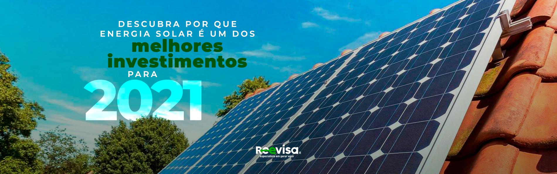 Descubra por que investir em energia solar é uma das melhores ações
